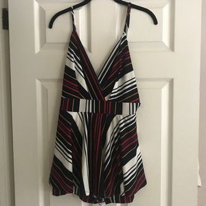 Cute backless romper!